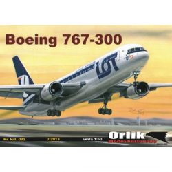Boeing 767 - 300 ER 1/50 ORLIK 092 Skarpetki