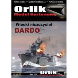Dardo Włoski niszczyciel ORLIK 076 Części i elementy