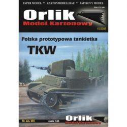 Tankietka TKW ORLIK 055 Materiały modelarskie