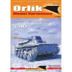 T-40 ORLIK 034 Materiały modelarskie