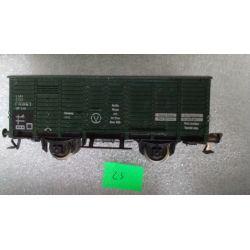 25 Wagon kryty FLEISCHMANN Modelarstwo