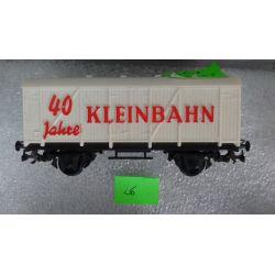 26 Wagon kryty KLEINBAHN Modelarstwo