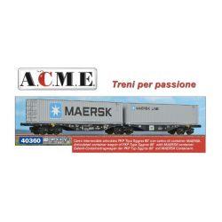 Wagon kontenerowy Typ Sggrss 80' PKP, A.C.M.E. 40360 Wagony