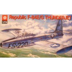 135 F-84E/G THUNDERJET, ZTS PLASTYK Zestawy