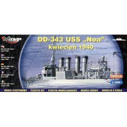DD-343 USS NOA MIRAGE HOBBY 40604 Skarpetki