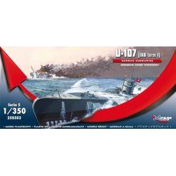 U-107 MIRAGE HOBBY 350503 Cobi