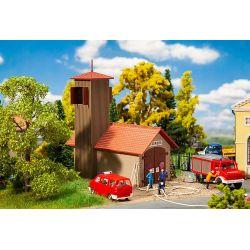 Wiejska remiza, FALLER 131383  Wagony