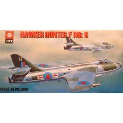 007 HAWKER HUNTER F Mk 6 , ZTS PLASTYK skala 1:72