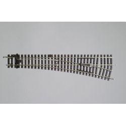 Zwrotnica w Prawo R9/239mm, Piko 55221 Wagony