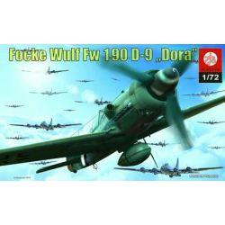 012 Focke Wulf Fw 190 D-9 Dora, ZTS PLASTYK 101-500 elementów