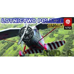 066 RWD-6 I PZL P.11 c, ZTS PLASTYK Zestawy