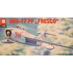 """011 Mig-17 PF """"Fresco"""", ZTS PLASTYK skala 1:72"""