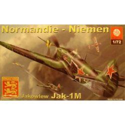 036 Jakowlew Normandie-Niemen, ZTS PLASTYK skala 1:72