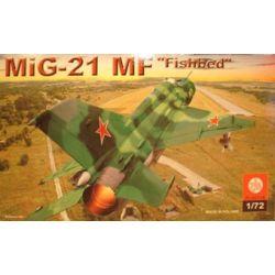 """035 Mig-21 """"Fishbed"""", ZTS PLASTYK skala 1:72"""