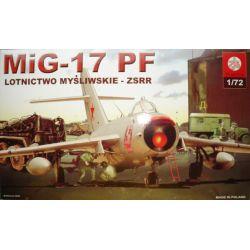 037 Mig-17 PF , ZTS PLASTYK skala 1:72