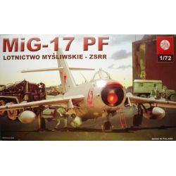 037 Mig-17 PF , ZTS PLASTYK Materiały modelarskie