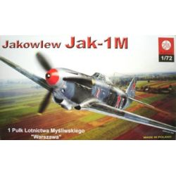 030 Jakowlew JAK 1-M , ZTS PLASTYK 101-500 elementów