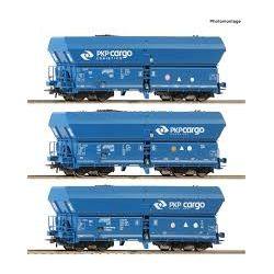 wagon Falns, PKP Cargo, ep.VI, Roco 76046, Zestaw Pozostałe