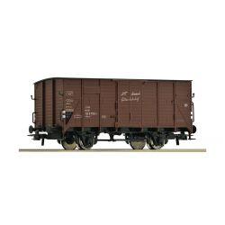 Wagon towarowy kryty, Boxcar, ROCO 56221 Materiały modelarskie