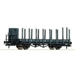 Wagon Wagon platforma z kłonicami, ROCO 66349 Kolekcje