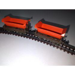 Zestaw 2 wagonów towarowych , ARNOLD 0448 Skarpetki