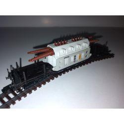Wagon platforma z transformatorem , ARNOLD Wagony