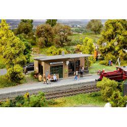Przystanek kolejowy PUSEMUCKEL, FALLER 110204 Kolekcje