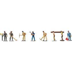 Figurki Robotnicy kolejowi, FALLER 155304 Kolekcje