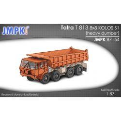 Tatra T813 8X8 S1, JMPK 87154 Materiały modelarskie