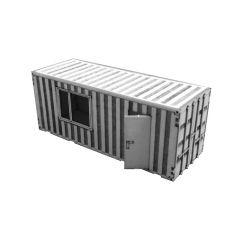 Kontener budowlany, socjalny Typ:02, A&S Projekt Materiały modelarskie