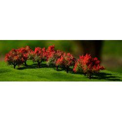 Krzewy kwitnące czerwone 10szt. FREON Kolekcje