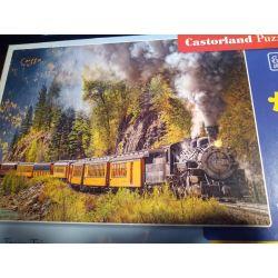 Puzzle Steam Train Trip, CASTORLAND Dla Dzieci