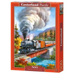 Puzzle Train Crossing, CASTORLAND Dla Dzieci