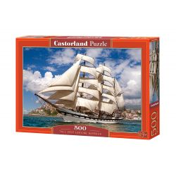 Puzzle Tall Ship Leaving Harbour, CASTORLAND