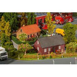 2 domy z klinkieru, FALLER 130507 Części i elementy