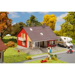 Dom z tarasem, FALLER 131355 Części i elementy