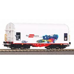 Wagon Towarowy, plandeka Rail Cargo, PIKO 58982 Wagony