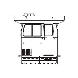 Kabina maszynisty Sm42 1069, PIKO ET59265-04 Modelarstwo