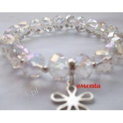 Bransoletka z Kryształków fasetowanych. Biżuteria ślubna