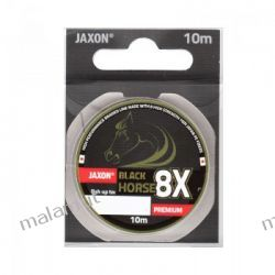 Plecionka Jaxon BLACK HORSE 8X PREMIUM 0.08mm 10m