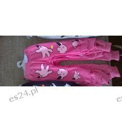 Spodnie Mickey łapki róż Dla Dzieci
