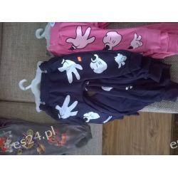 Spodnie Mickey łapki granat Dla Dzieci