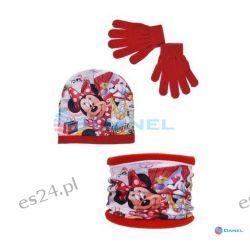 Czapka i rękawiczki Minnie Dla Dzieci