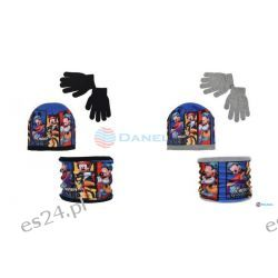 Czapka , komin i rękawiczki Mickey Dla Dzieci