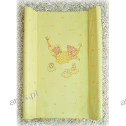 Przewijak przebierak nadstawka usztywniony 50*70 na łóżeczko i komode (żółte hamaki)