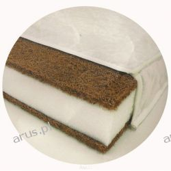 Materac kokos pianka kokos 120*60 Komfort II Danpol