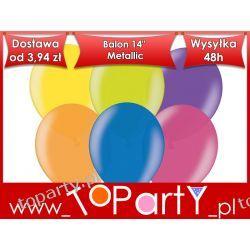 """Balony 14"""", Metallic Mix, 1op. Urodziny"""
