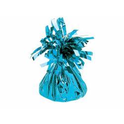 Obciążnik do balonów, foliowy, baby blue, 1szt.