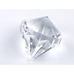 Zawieszki Diamenty, bezbarwny, 39 x 42mm, 1op.