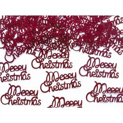 Konfetti Merry Christmas, 4,2 x 2,2cm, 3g, 1op.